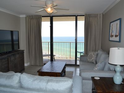 Photo for Dunes of Panama Vacation Rentals E1202  LOOK Just completely renovated 2018!