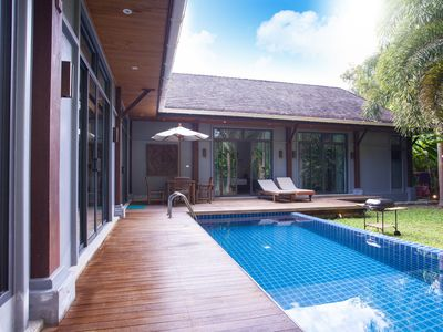 Photo for 3 BDR Private Pool Villa Holiday Oriental - Nai Harn