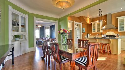 Formal Dining and Fully Equiped Kitchen for Entertaining.