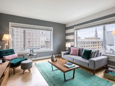 Photo for Hip Nob Hill 1BR w/ Balcony + Views, near Union Sq by Blueground