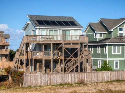 Photo for Float on Cloud 9 w/ Amazing Oceanfront View, Solar Htd Pool, Hot Tub & Tiki Bar