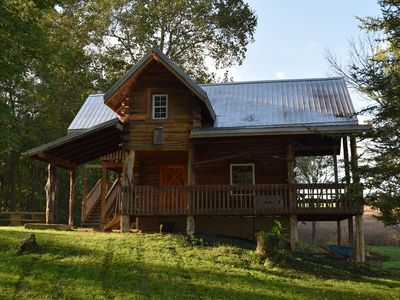 Rustic Hunting Cabin located on a Working Farm