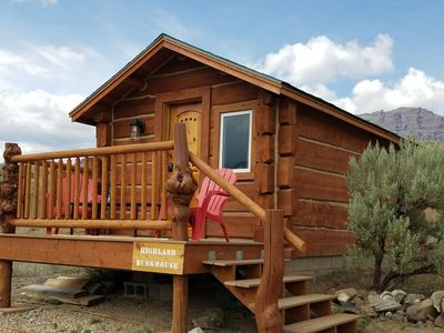 Photo for Fully renovated log cabin on the road to Yellowstone