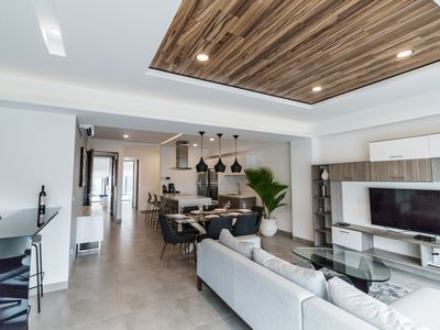 Photo for ULTRA LUXURY 2BR SUITE!! EXCEPTIONALLY DESIGNED, 5 MIN WALK 2 BEACH IN DOWNTOWN