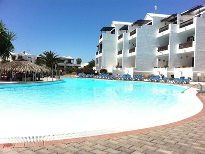 Photo for Luxury Apartment with Shared Pool, Sea Views and fast free Wifi