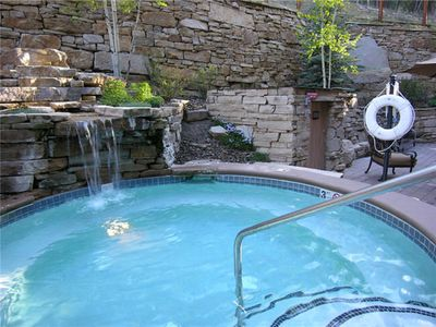 Photo for 5-Star Ski-In/Ski-Out Condo, Fire pit, luxury pool/ hot tub, Worry-Free Booking!