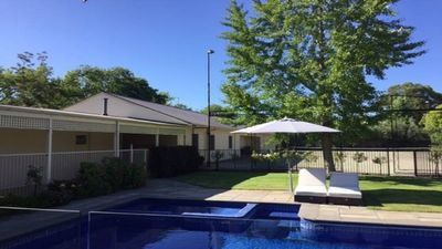 Photo for Family and Pet friendly central  Albury home with tennis court.