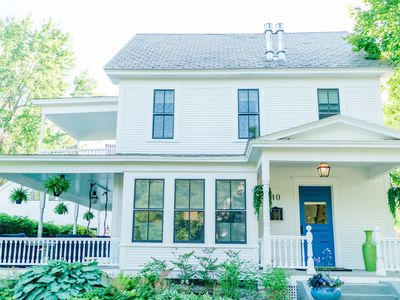 Photo for Newly renovated four bedroom  Luxury Home in Middlebury, VT (sleeps 8)