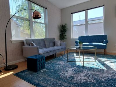 Photo for Glam-Gold 2 Bedroom Comfy Apt in Central PDX