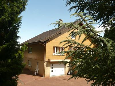Photo for Spatieux f2,3 apartment, panoramic view, on the heights of the village