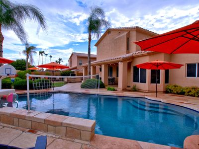 Photo for Best Location Scottsdale! Heated Pool, Great Kitchen And Backyard, Sleeps 20