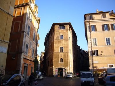 Photo for Navona Loft Terrace, splendid apartment with terrace in the historic center