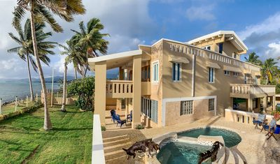 Photo for Luxury Ocean Front Villa with Panoramic Views Panoramic Views and Private Beach
