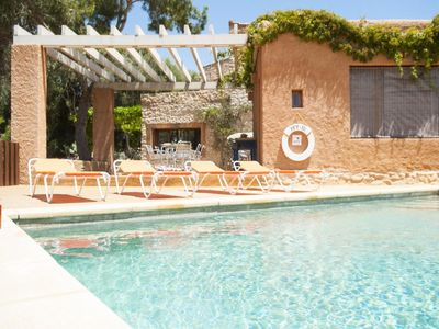 Photo for 5 bedroom Villa, sleeps 9 in Cas Concos with Air Con and WiFi