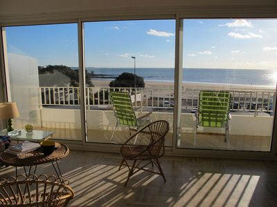 Photo for Magnificent sea view, 23 m2 terrace and deco 50