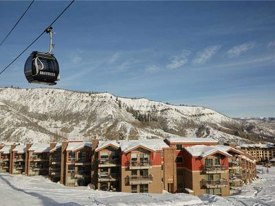 Photo for Luxury Ski-In/Ski-Out Condo, Hot Tub Access, and Wood-Burning Fireplace