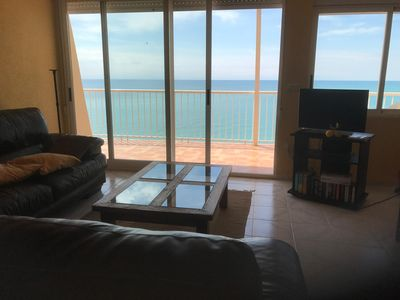 Photo for Grand Duplex - Exceptional sea view - 5 minutes from the beach and pool