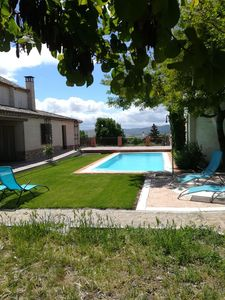 Photo for Casa el Laurel de Marjaliza, Toledo, with pool and garden