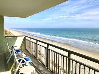 Photo for Oceanfront 2bd/2ba Condo with Dolphin Views