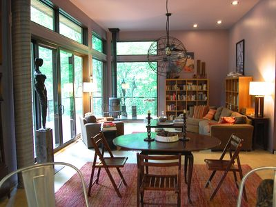 Photo for Wanderlust is a beautiful modern home in the center of all things Asheville!