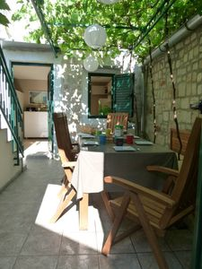 Photo for Small but charming and fully restored stone house in the center of the old town Stari Grad. House with character