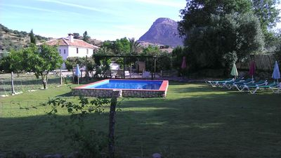 Photo for Fabulous Country House, private pool, AC units in all rooms, wi-fi. Grazalema
