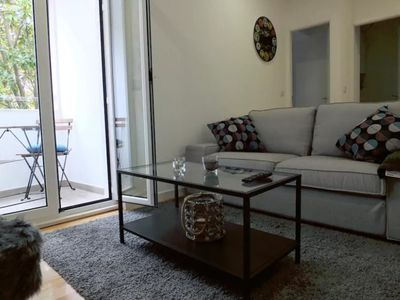 Photo for Spacious Jardin des Etoiles  apartment in Alameda with WiFi & private terrace.