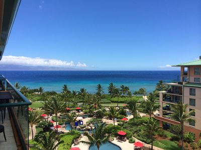 Photo for KONEA 707- Top Floor-No One Above You-BIG Ocean View 2 Bedrooms-Certified Clean