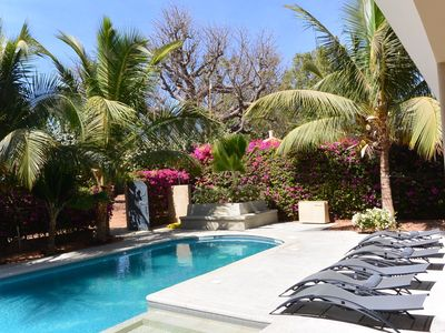 Photo for Magnificent villa 150 meters from the ocean with private pool