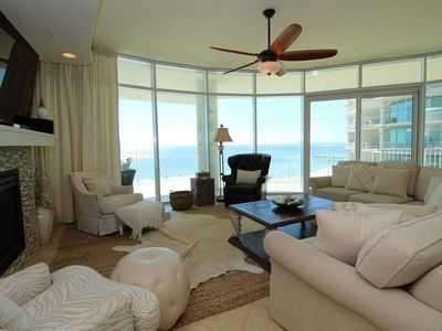 Photo for Turquoise C1109 - 4BR 4.5BA Corner Unit with Stunning Gulf Views!