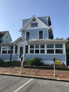 Photo for Gorgeous Beach house in Ocean block, sleeps 16, pet and kid friendly.