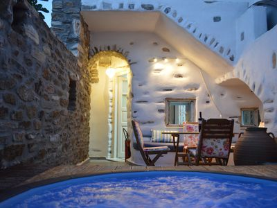 Photo for Beautiful traditional house with private terraces and jacuzzi