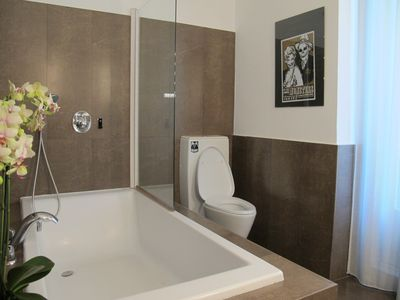 Photo for ROMANTIC in downtown Madrid. Bathtub
