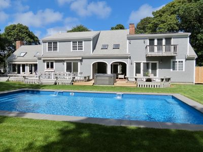 Photo for Chatham Resort Feel: Sleeps 16, Heated Pool/Spa, Renovated, Roomy, Upscale. 065-C