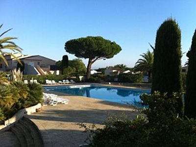 Photo for Exceptional cottage with private garden, 100m from Tahiti beach &  St Tropez 2mn
