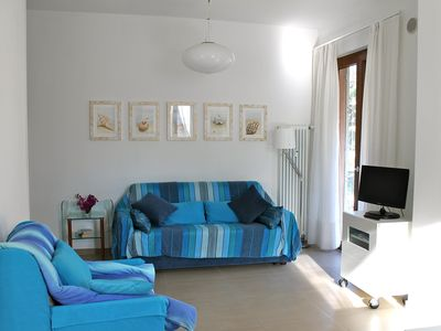 Photo for bright and comfortable apartment with terrace near the sea with wi-fi and garage