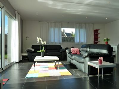 Photo for New contemporary 4 **** villas, disabled access, 5 mins walk from the beach