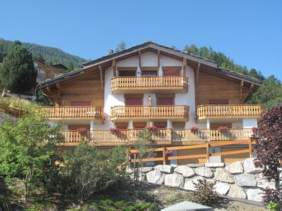 Photo for Luxury 3-bed Apartment in Haute Nendaz in the heart of the Four Valleys