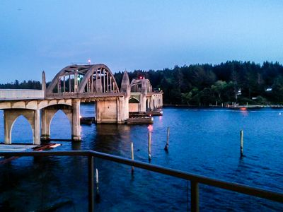 Photo for Gorgeous riverfront rental with excellent views and large private deck!