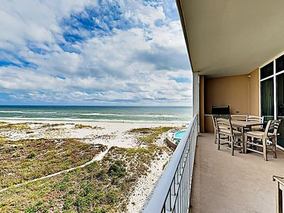 Balcony - Gorgeous Gulf views await on your private balcony.