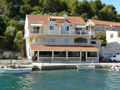 Photo for Holiday apartment seafront with sea views