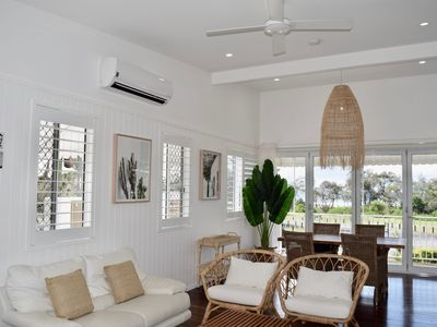 Photo for OCEANFRONT CONTEMPORARY BEACH SHACK ON MARINE PARADE