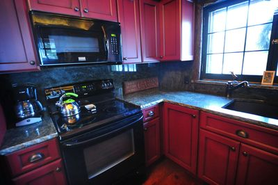 Granite Countertops and all new appliances and fixtures.