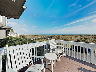 Photo for New Listing! Oceanfront Getaway w/ Dazzling Views: Steps to Sand, Near Dining