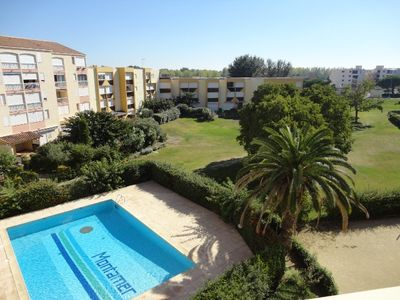 Photo for 2 rooms4 sleeps - Swimming pool - Elevator - Near the sea