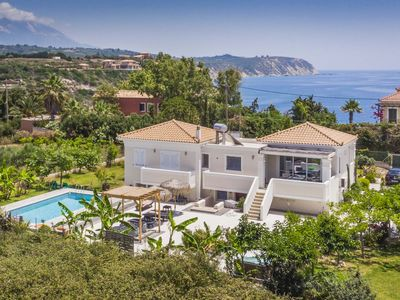 Photo for Ai Helis Beach House - This Villa includes a private pool, hot tub & WI-FI