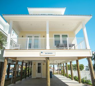 Photo for Jus Jammin|East Point Cottages|13 cottages|Gulf Shores|Across the street from the beach |Pool