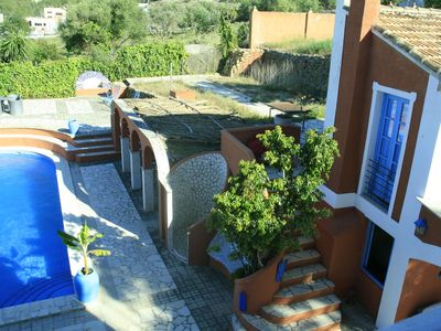 Photo for Artistic 6-10-people villa in picturesque village near Denia, bar, tap, swimming pool, terraces