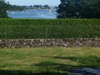 Photo for Fisherman's house sea view Gulf of Morbihan, large walled garden, wifi