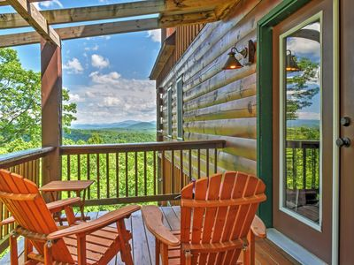 Photo for Secluded 3BR Morganton Cabin w/Wooded Views!